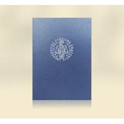 PRO 618 - Modré zavírací oznámení