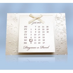 SO 514 - Kalendář opál