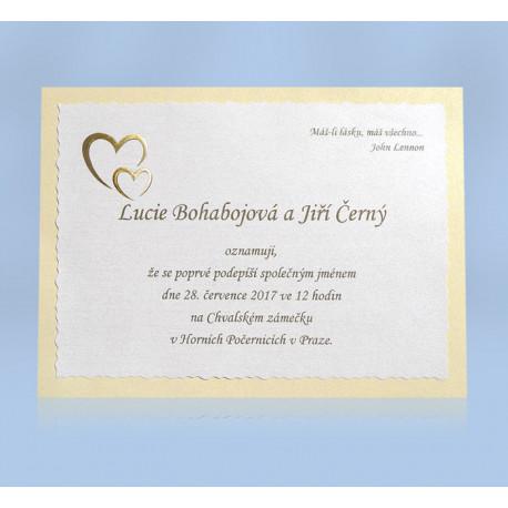 Svatební oznámení 205