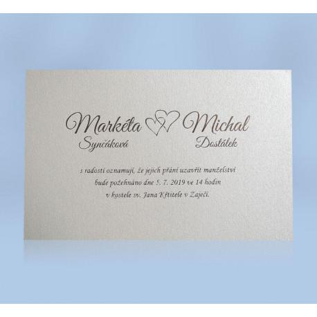 Svatební oznámení 191