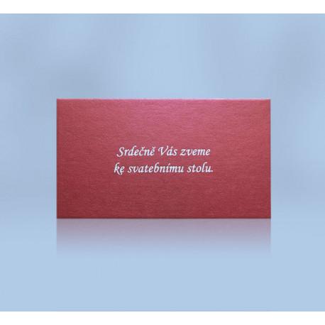 Pozvánka ke svatebnímu stolu 201