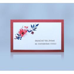 Pozvánka ke svatebnímu stolu 151