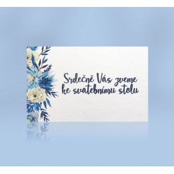 Pozvánka ke svatebnímu stolu 197