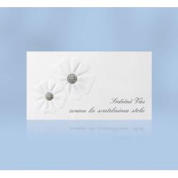 Pozvánka ke svatebnímu stolu 206