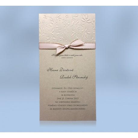 Svatební oznámení 518